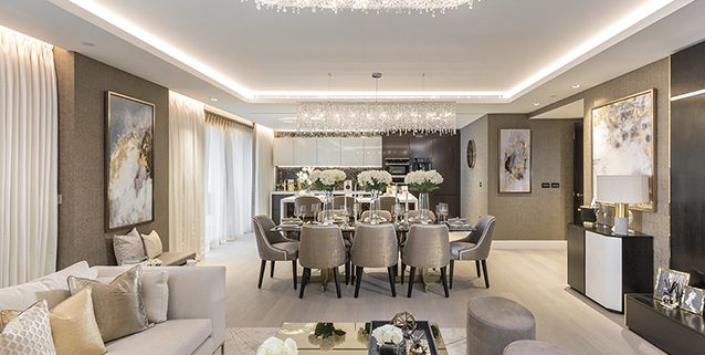 Progetto a Londra, Manooi Crystal Chandeliers