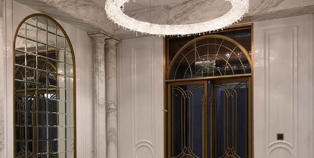 Lussuosa villa a Shanghai, Manooi Crystal Chandeliers