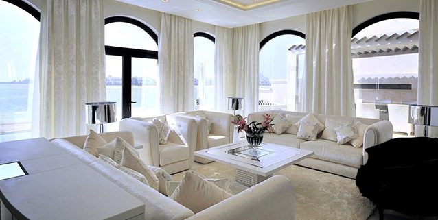 Lussuosa villa a Dubai, Manooi Crystal Chandeliers